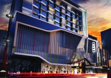 An artist's impression of the Liverpool Street Myer site