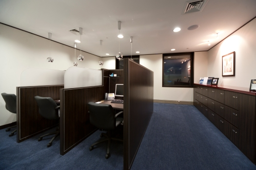 An example of the office space available at Officeworld