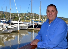 Australian Maritime College Vocational Education and Training Manager Jarrod Weaving