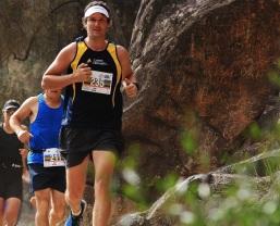 Trail run_Batty sets the pace