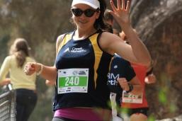 Trail run_Freya flying through