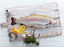 Petuna whole ocean trout, a key ingredient in Tetsuya's confit dish