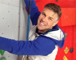 Rick Perry, owner of Rock It Climbing, located at 54 Bathurst Street, Hobart.