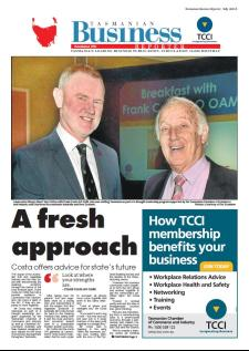 The July edition of the Tasmanian Business Reporter is now available, click on the image to visit the online version.