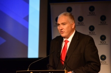 Tasmanian Chamber of Commerce Industry CEO Michael Bailey. Courtesy of the Examiner