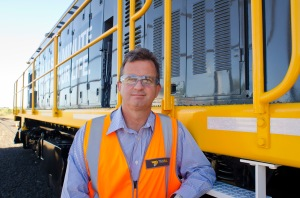 Damien White, chief executive of Tasrail