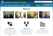 The new Legal Aid Commission website