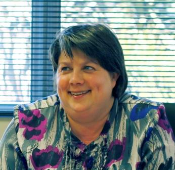 New Launceston Chamber of Commerce President Donna Bain.