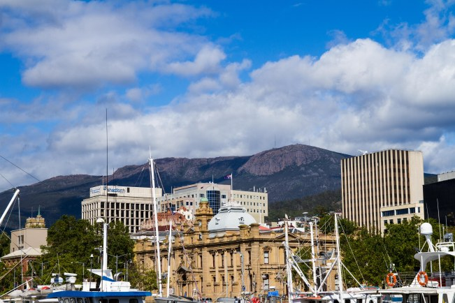 Hobart Ciry Mt Wellington Tom Wakefield