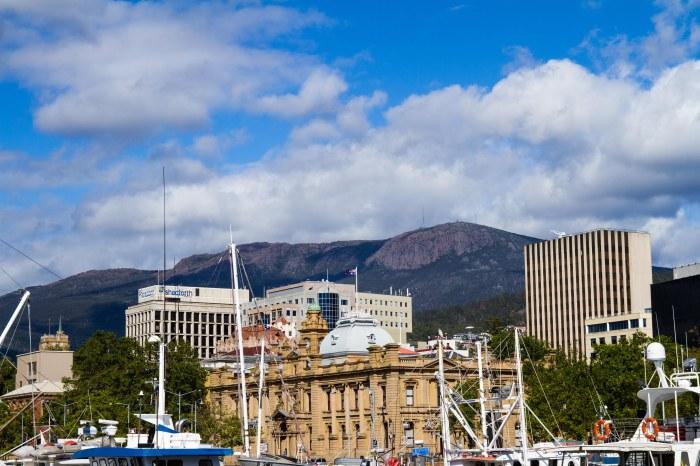 Hobart Ciry Mt Wellington Tom Wakefield