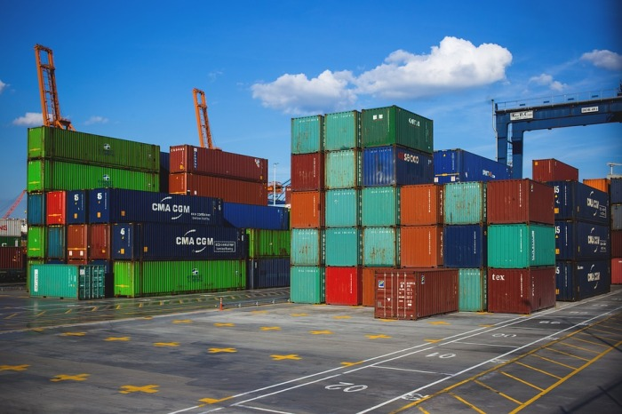 Cargo Containers Business Crate Freight Export