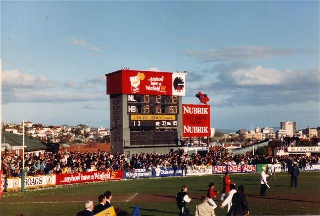 North Hobart oval